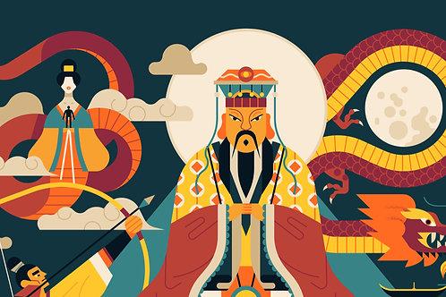 Calendar of the Gods in China TR LItt