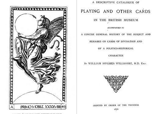 A Descriptive Catalogue of Playing - Other Cards in the British Museum