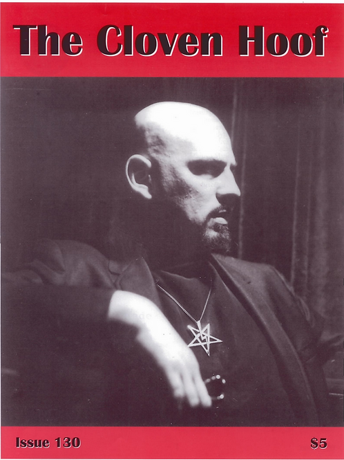 The Cloven Hoof by Anton LaVey 4 Issues