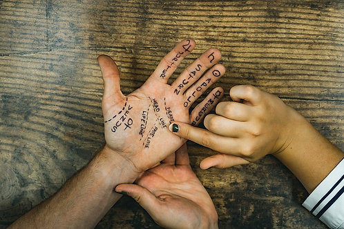 Palmistry - Reading Between the Lines