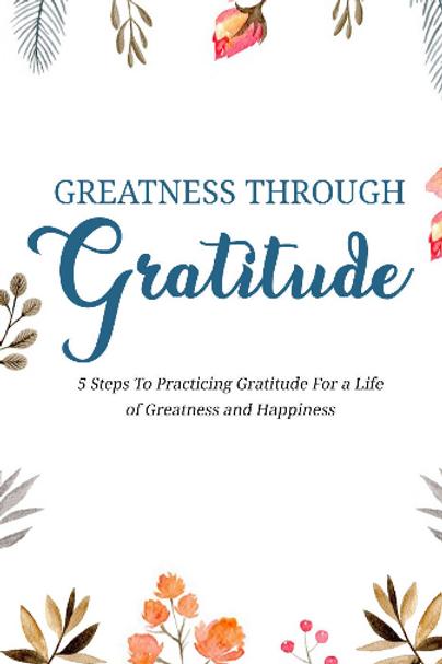 Greatness Through Gratitude 1 Book and Audio