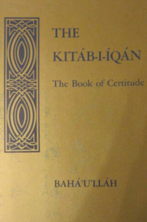 Kitab-i-Iqan Book of Certitude