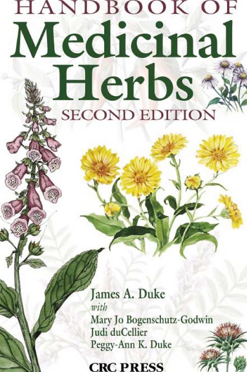 Handbook of Medicinal Herbs - James A Duke