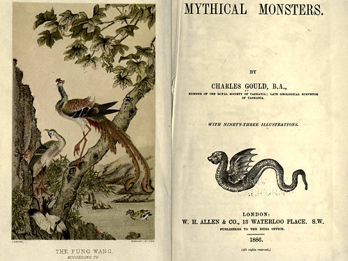 Mythical Monsters - C Gould 1886
