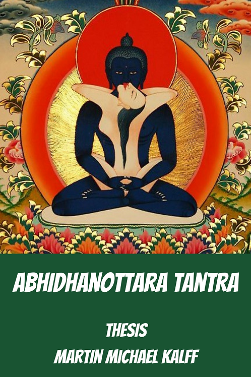 Abhidhanottara Tantra-Thesis - Martin Michael Kalff