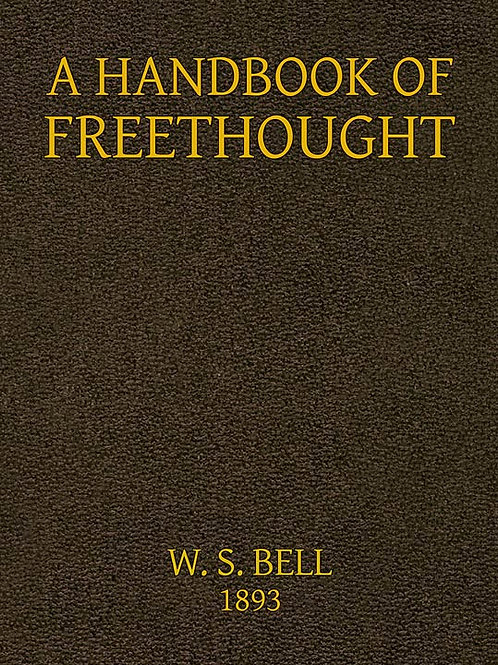 A Handbook of Freethought
