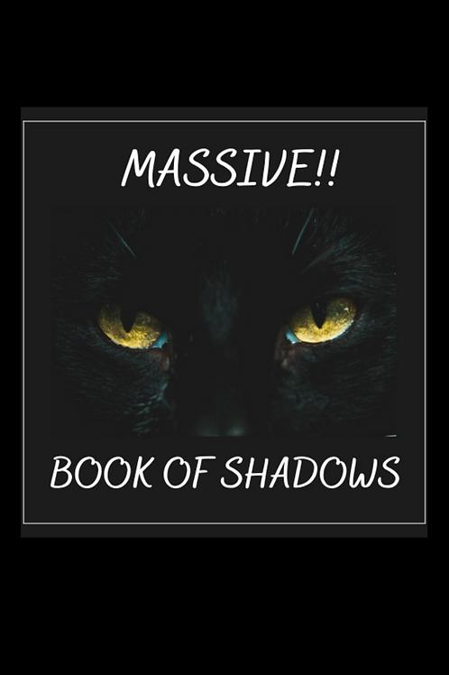 Massive!! 3950 pg Book of Shadows!!!