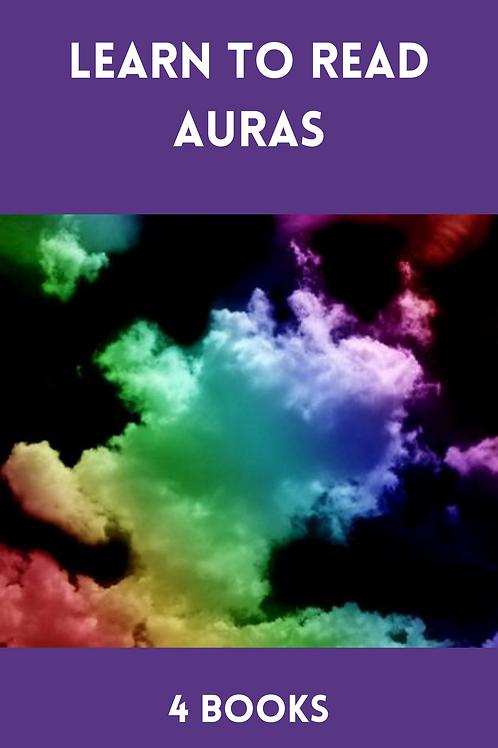 Learn to Read Auras - 4 Books