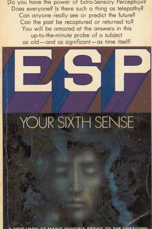 ESP Your Sixth Sense - Brad Steiger