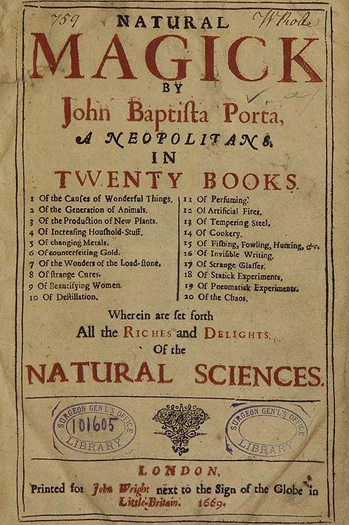 Natural Magick 1669