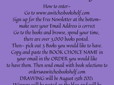 CONTEST!! Win FREE Books