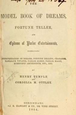 Model Book of Dreams Fortuneteller