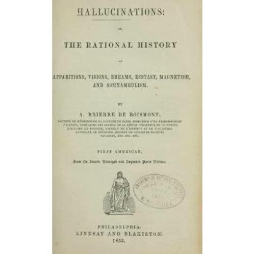 Hallucinations - A B de Boismont