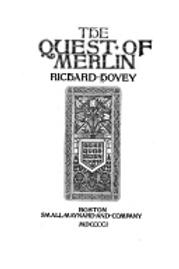 Launcelot & Guenevere The Quest of Merlin