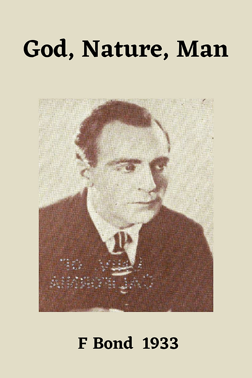 God, Nature, Man - F Bond 1933