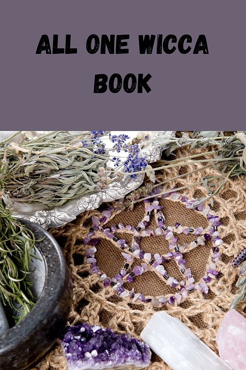 All One Wicca Book