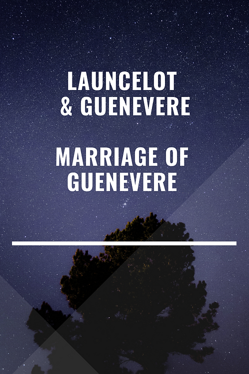 Launcelot & Guenevere Marriage of Guenevere -R Hovey