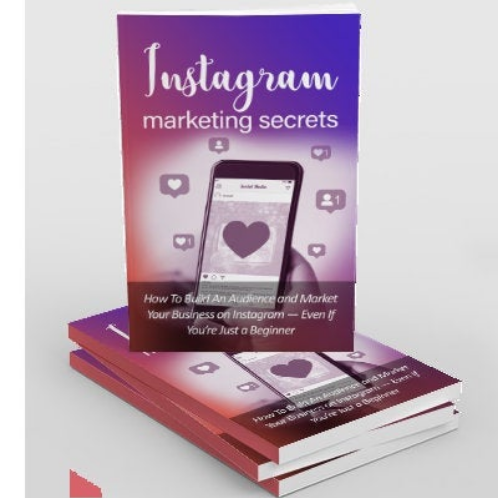 Instagram Marketing Secrets!  9 Videos and 2 Books!