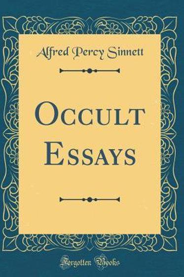 Occult Essays AP Sinnett