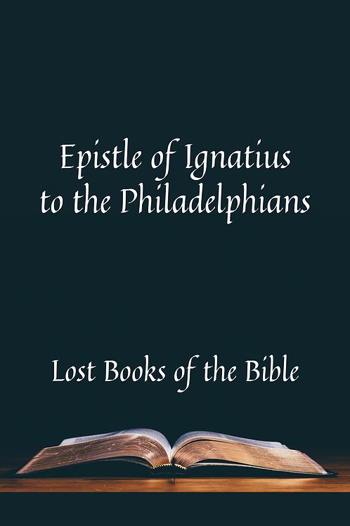 Epistle of Ignatius to the Philadelphians