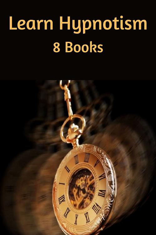 Learn Hypnotism - 8 Books