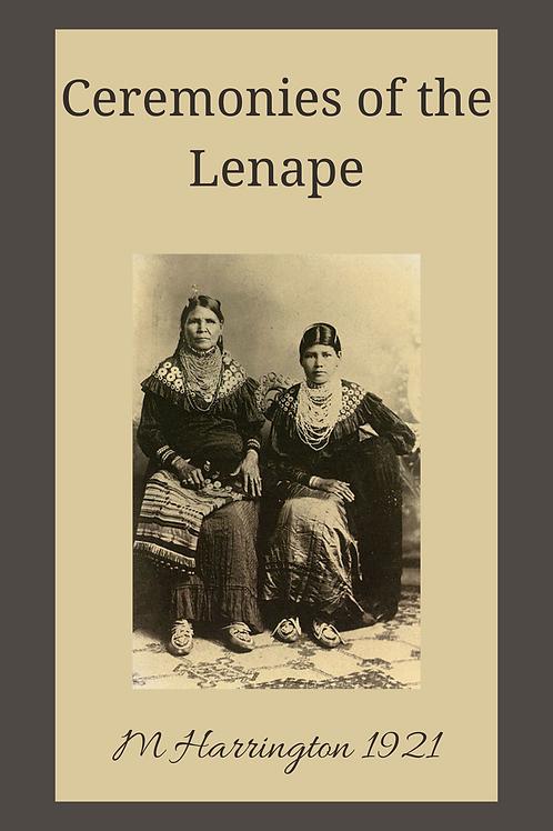 Ceremonies of the Lenape - M Harrington