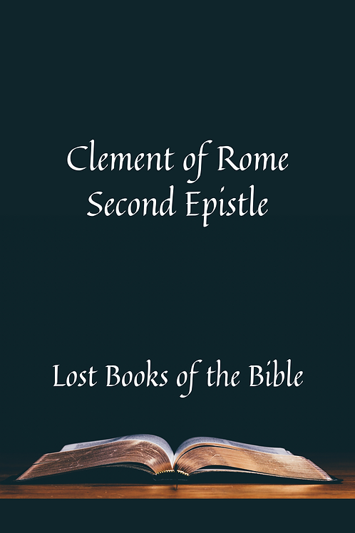 Clement of Rome - Second Epistle