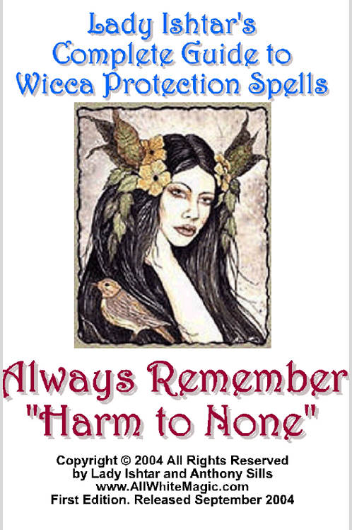 Lady Ishtar's Guide to Wicca Protection Spells