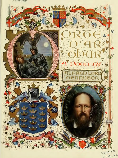 Morte D Arthur A Poem - A Sangorski