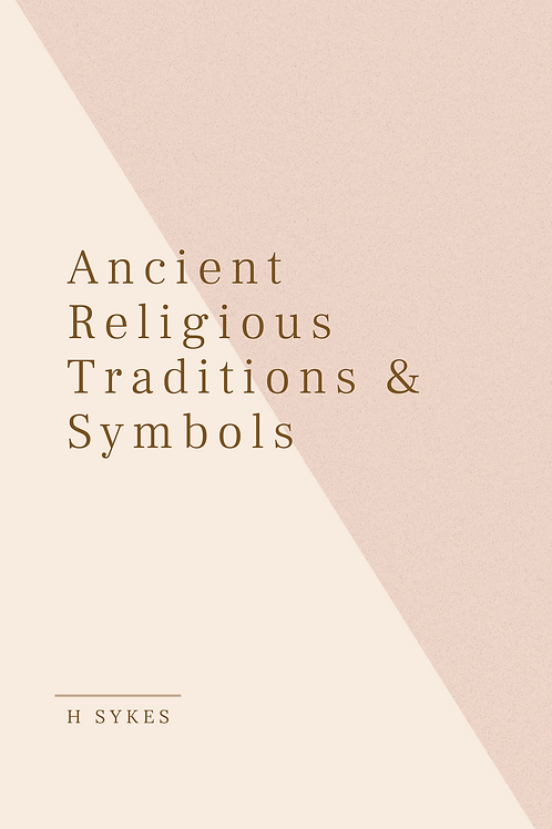 Ancient Religious Traditions & Symbols