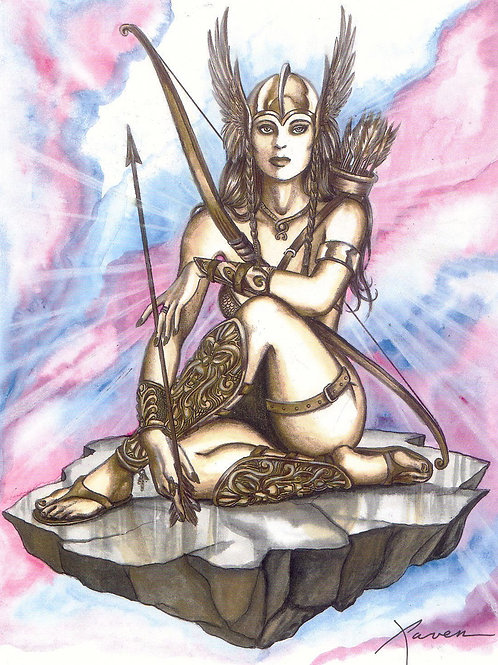 How to Invoke Freya Valkyries for Protection and Defence