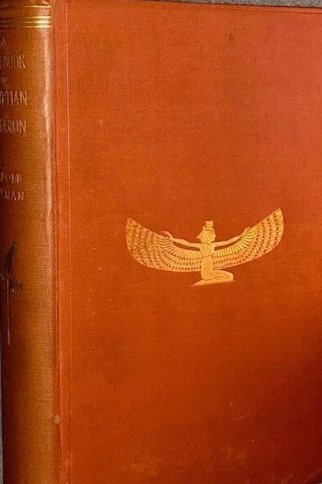 Handbook Of Egyptian Religion - Adolf Erman