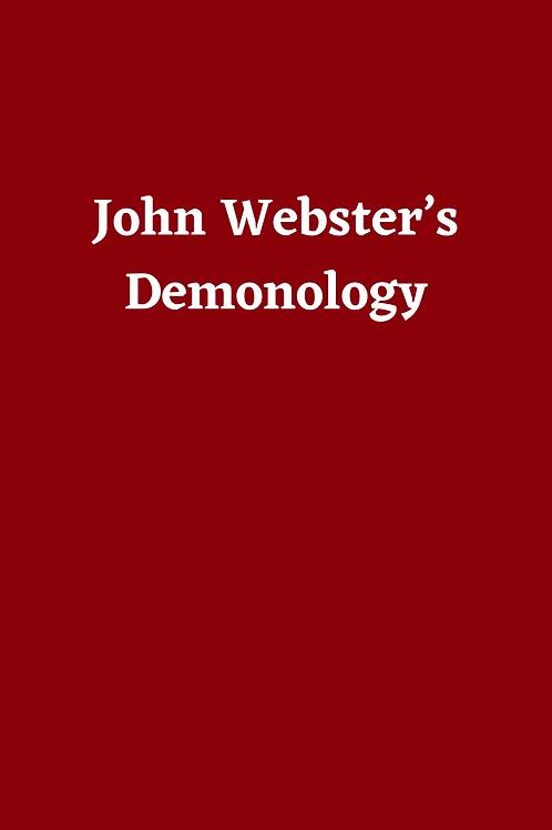 John Webster's Demonology