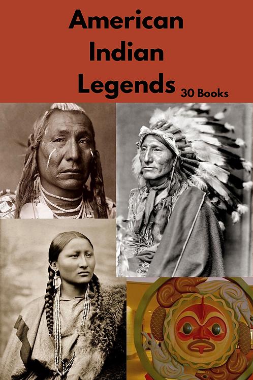 American Indian Legends 30 Books