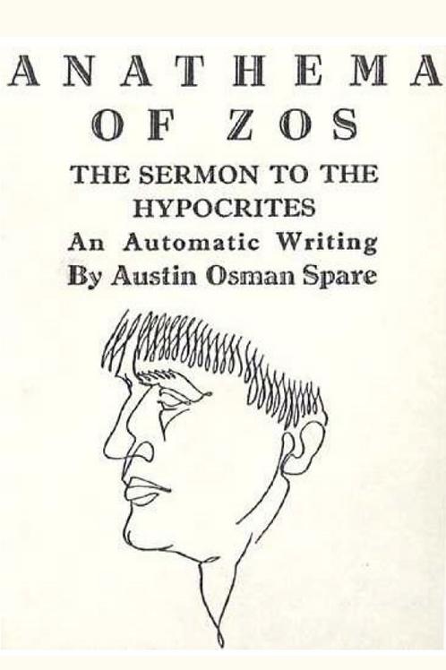 Anathema of Zos - Austin Osman Spare