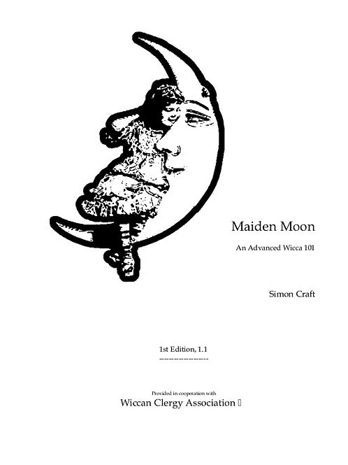 Maiden Moon Advanced Wicca 101