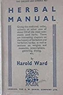 Herbal Manual Harold Ward