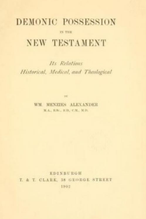 Demonic Possession In The New Testament