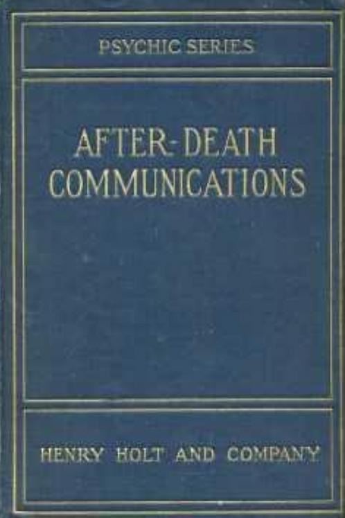 After Death Communications - L M Bazett