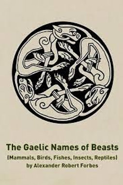 Gaelic Names of Beasts (Mammalia), Birds, Fishes, Insects, Reptiles - AR Forbes