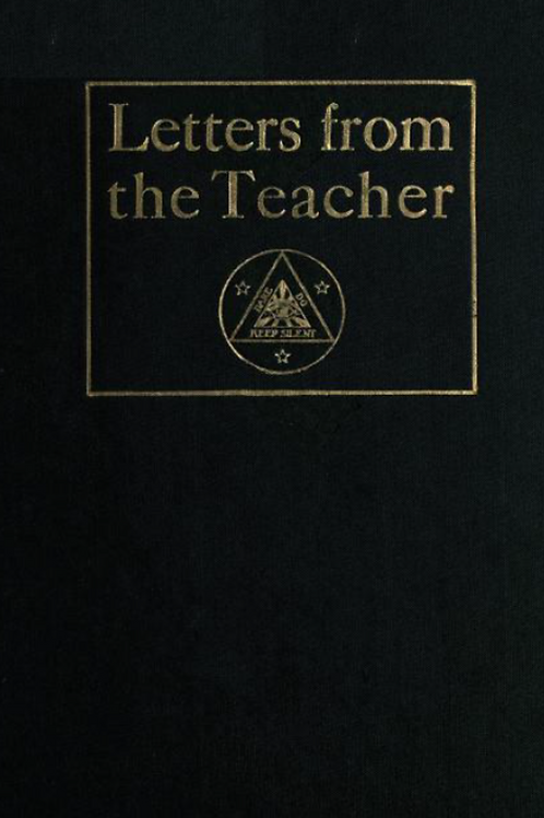 Letters from the Teacher Vol 1 - F Homer