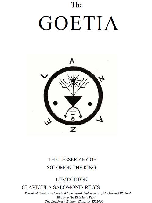 Luciferian Goetia