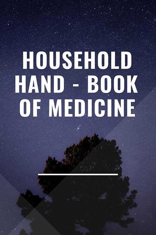 Household  Hand - Book of Medicine 1893