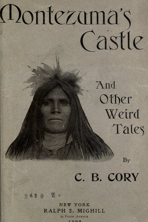 Montezumas Castle and Other Weird Tales - C B Cory 1899