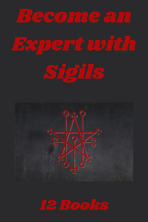 Become an Expert with Sigils - 12 Books