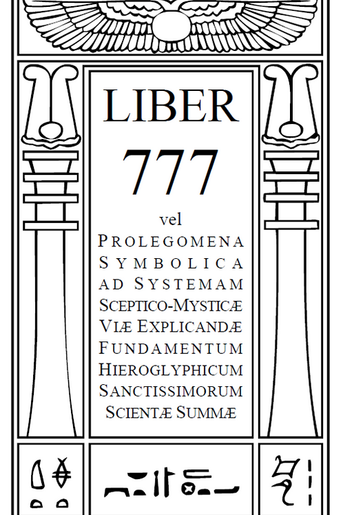 Aleister Crowley - LIBER 777