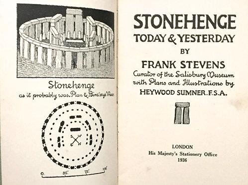 Stonehenge - Today and Yesterday Frank Stevens