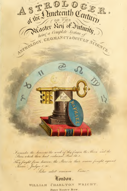 The Astrologer of the Nineteenth Century 1825