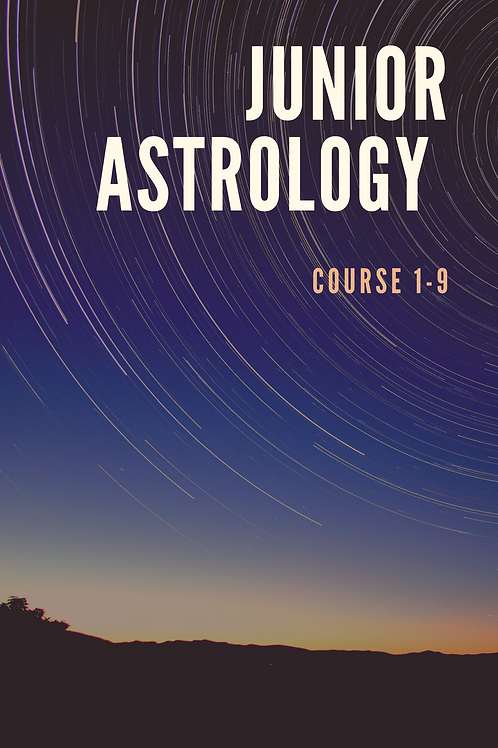 Junior Astrology Course 1-9