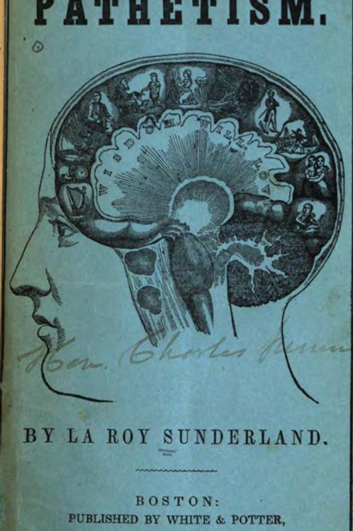 Pathetism With Practical Instructions Dr LA Roy Sunderland